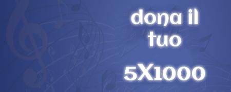 Sostieni i progetti di Musikademia, dona il tuo 5X1000