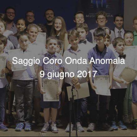 Saggio Coro Onda Anomala 2017