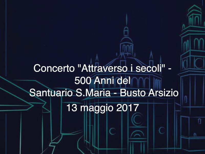 Concerto Santuario S. Maria 23 maggio 2017