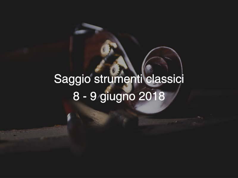 Saggio Classico 2018