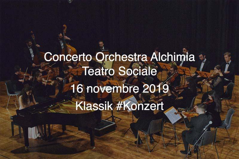 Concerto Orchestra Alchimia @ Teatro Sociale