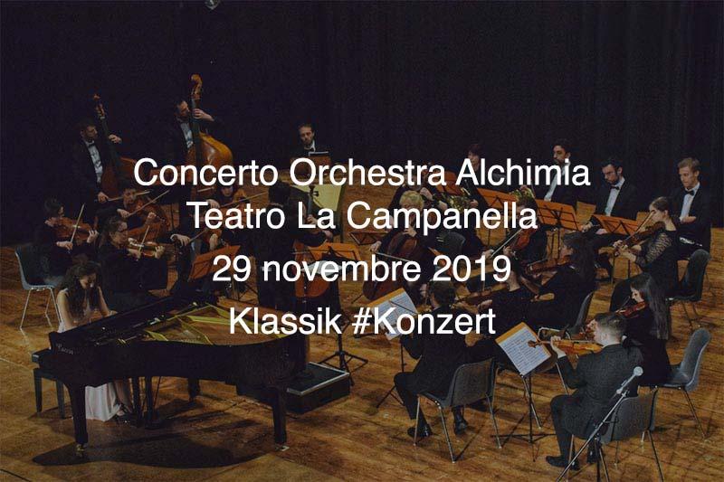 Concerto Orchestra Alchimia @ Teatro La Campanella