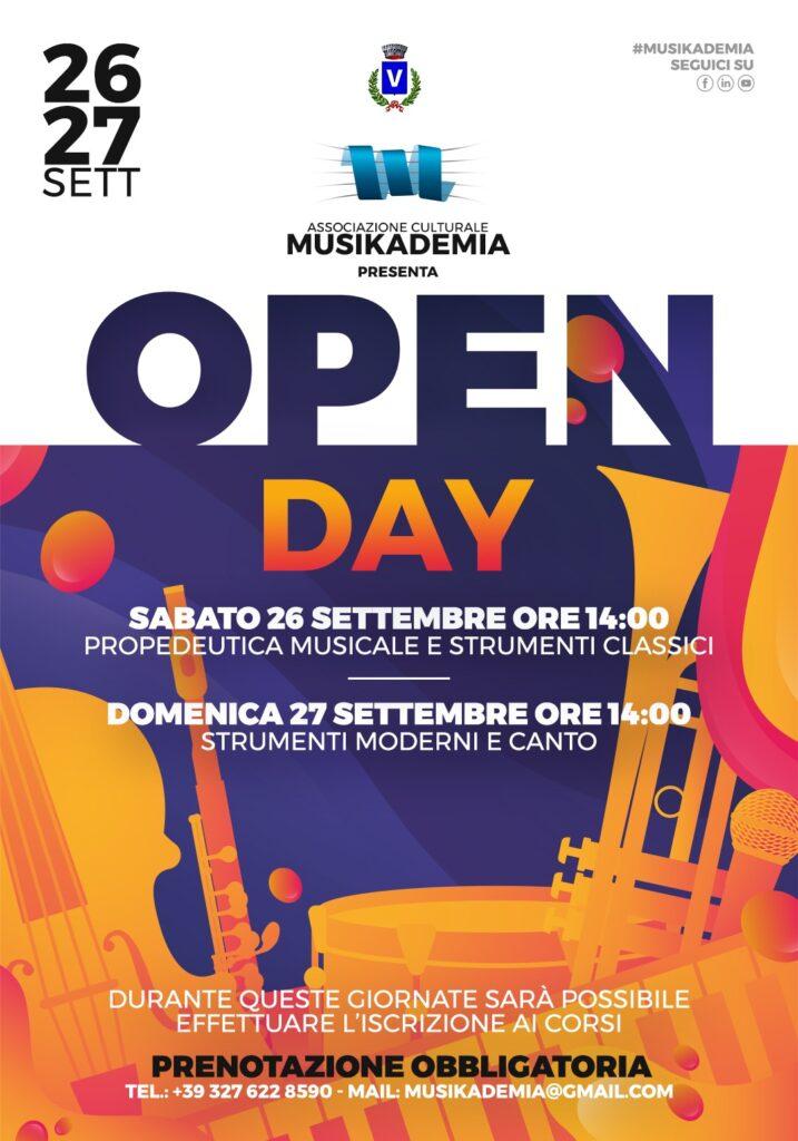 Locandina Open Day 2020