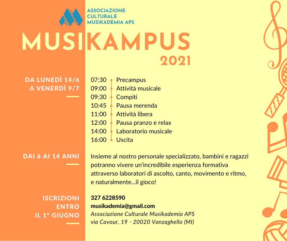 Locandina Musikampus
