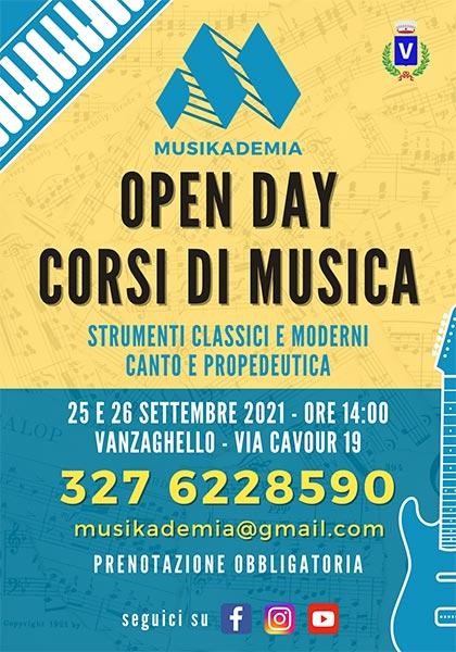 Open Day 2021 locandina